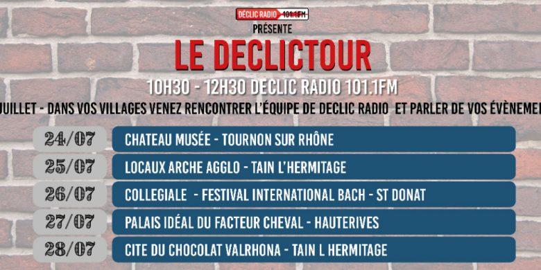 DECLIC TOUR 2017