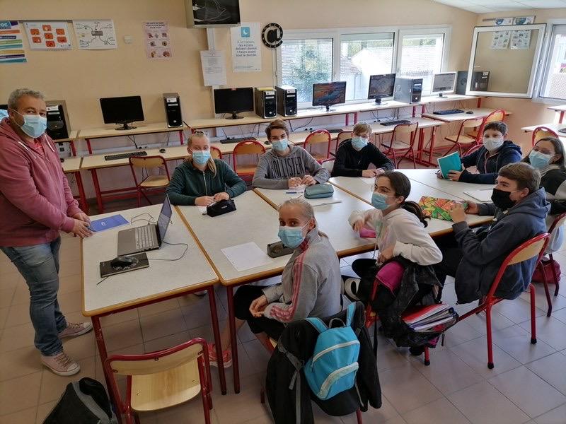 Atelier Pédagogique Collège St Louis