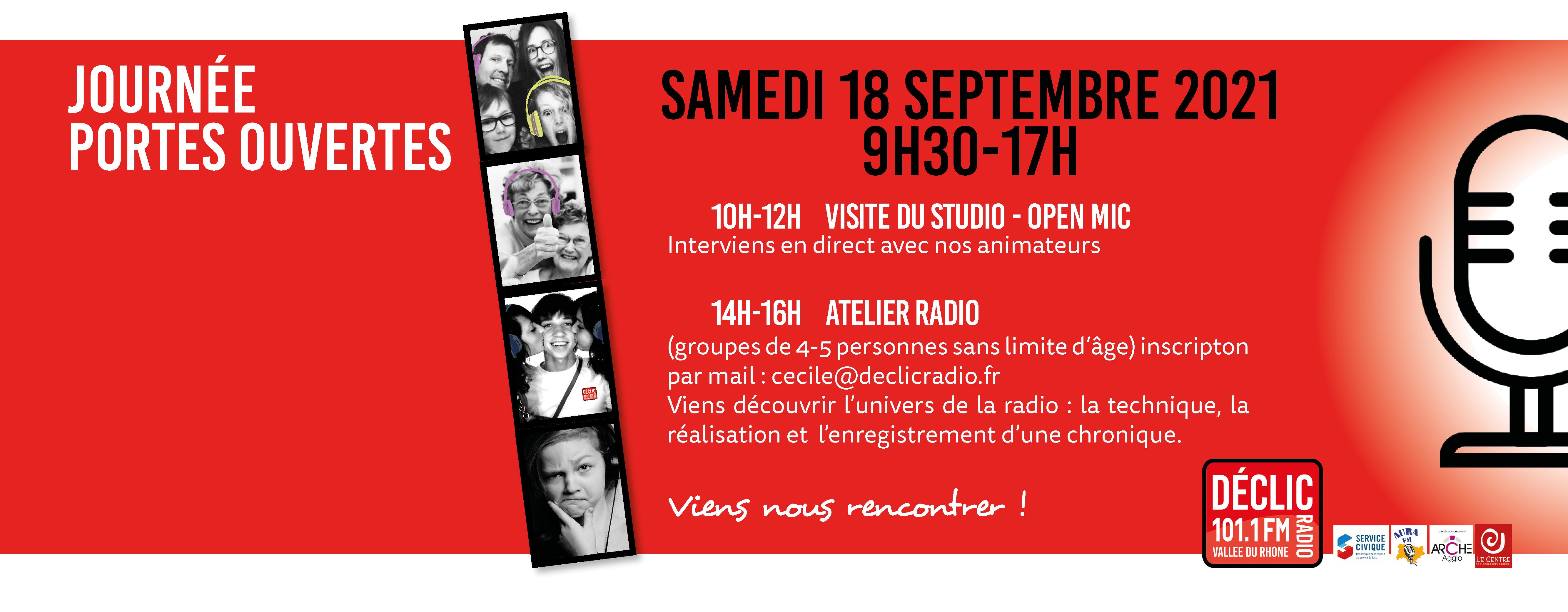 Bandeau site Déclic Radio tournon sur rhone